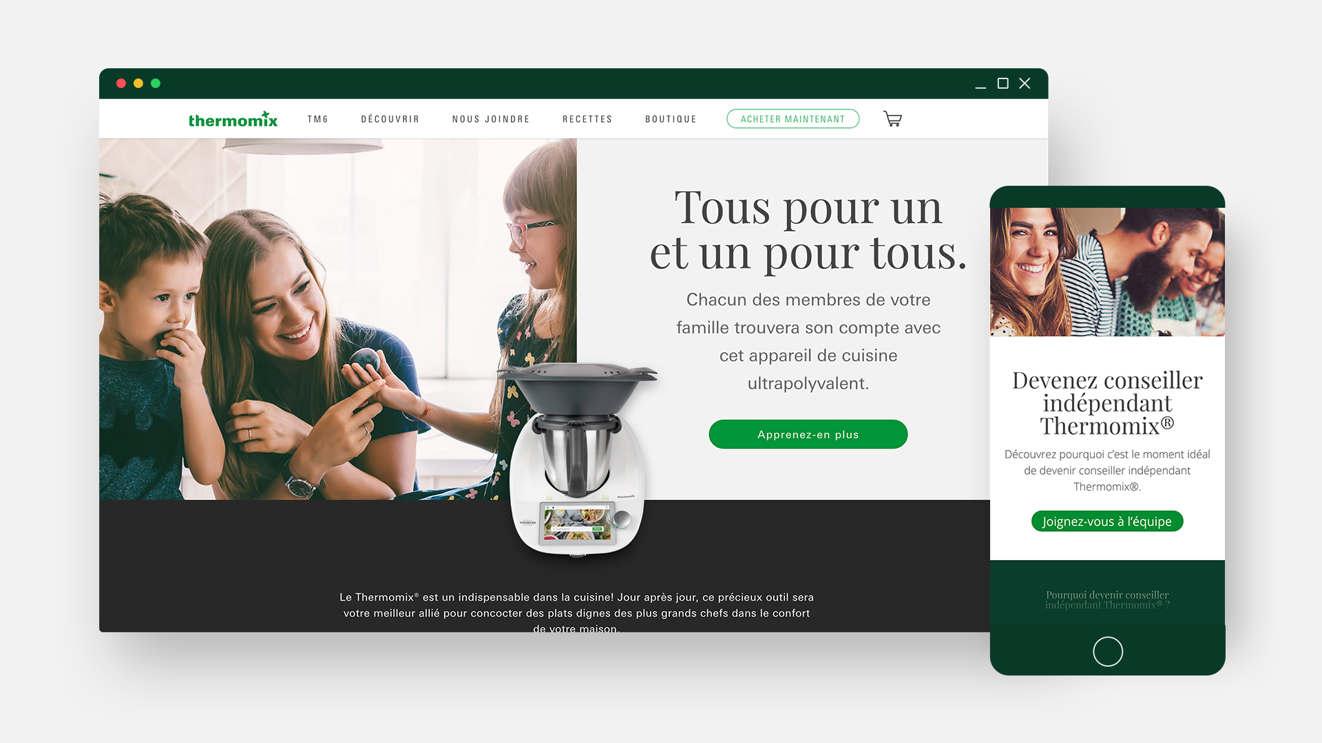 Thermomix - Website